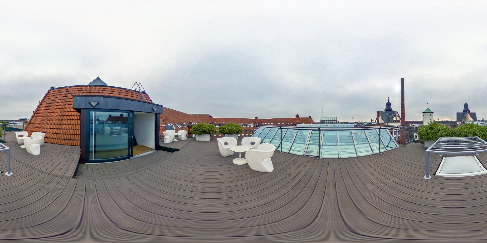 Dachterrasse - Sheraton Hannover Pelikan Hotel